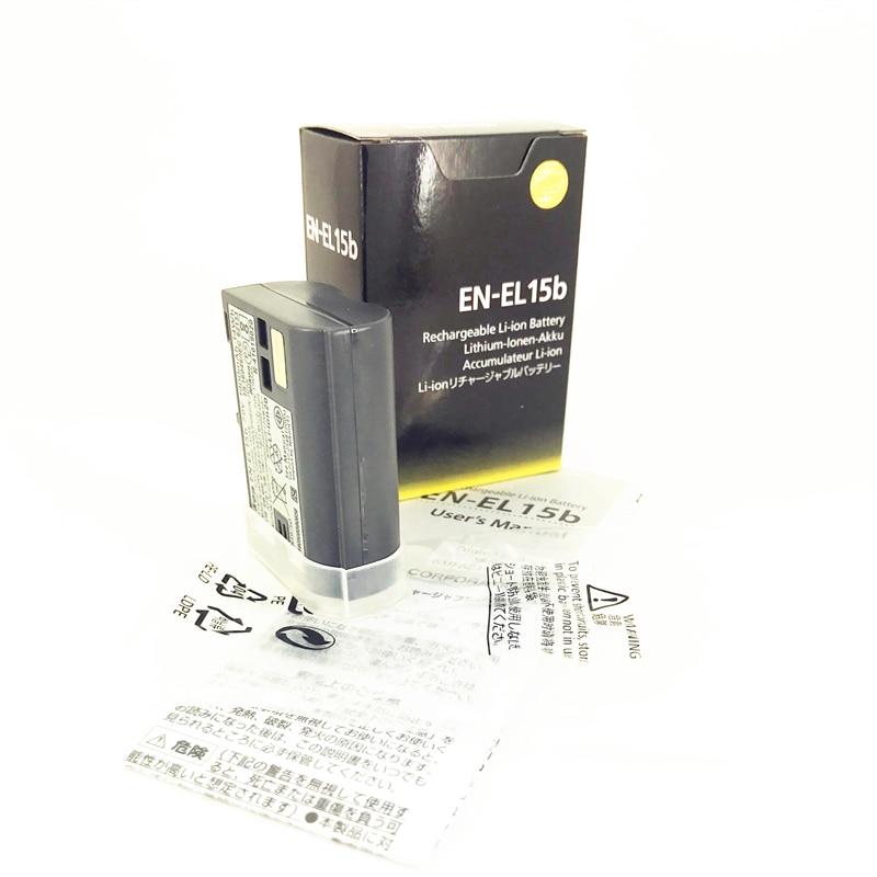 EN-EL15b ENEL15B EN EL15B Batteries pour Nikon Z7 Z6 D850 D810 D800 D780 D750 D610 D600 D500 D7500 Remplacer EN-EL15 EL15A