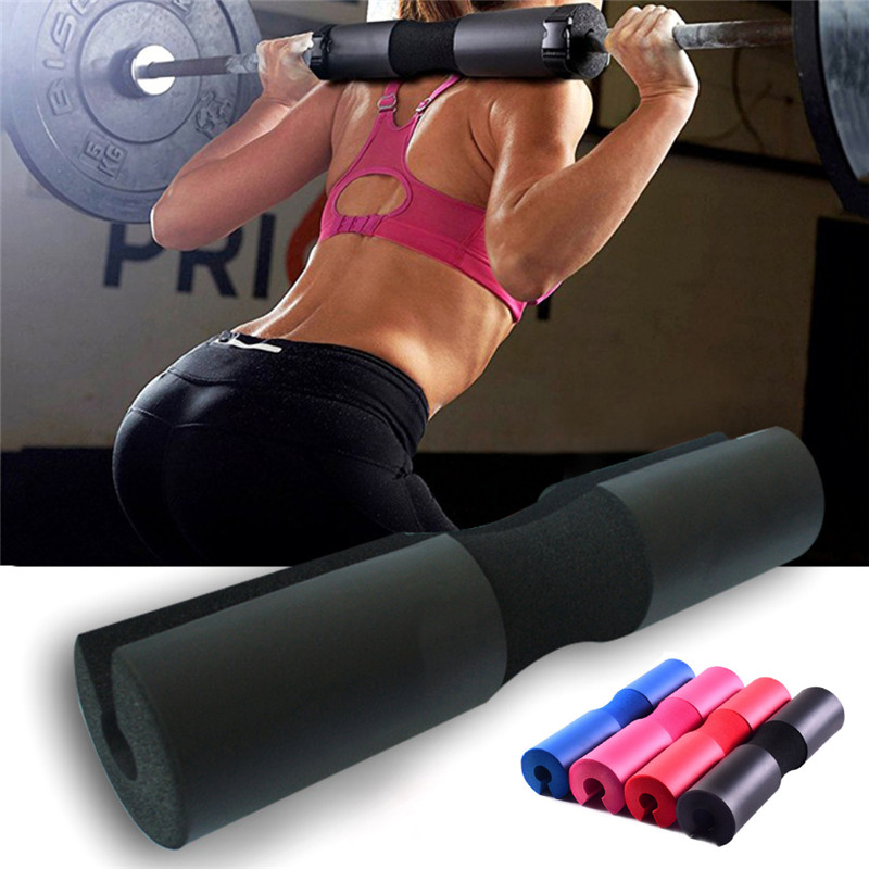 Squat Pad Neck Shoulder Back Protector Barbell High Density Foam Lifting Cushion Barbell Supports Tool Straps Braces