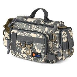 Image 5 - Fishing Gear Bag Multifunctional Fishing Tackle Bag Waist Bags Boat Bags Pouch Case for Fishing Gear Bags Fish Bag Rod