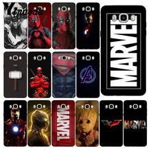 Yinuoda Deadpool Iron Man Marvel Avengers Phone Case untuk Samsung Galaxy J7 J6 J8 J4 J4Plus J7 Duo J7NEO J2 j5 Perdana(China)