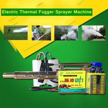Professional Alloy Thermal ULV Sprayer Fogger Machine 15L Ultra Capacity Disinfection Fuel Gasoline Water Mist Fogging Machine