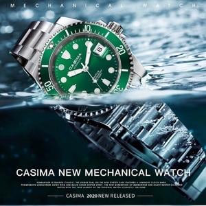 CASIMA Luminous 200 M Dive Watch Japan 8215 Automatic Watch Man Mechanical Watches Sapphire Glass Men Wrist Watches reloj hombre