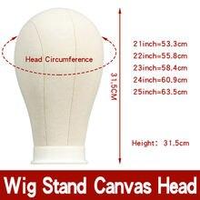 Qoxi Манекен головы для парика с стендами штатив парик дисплей