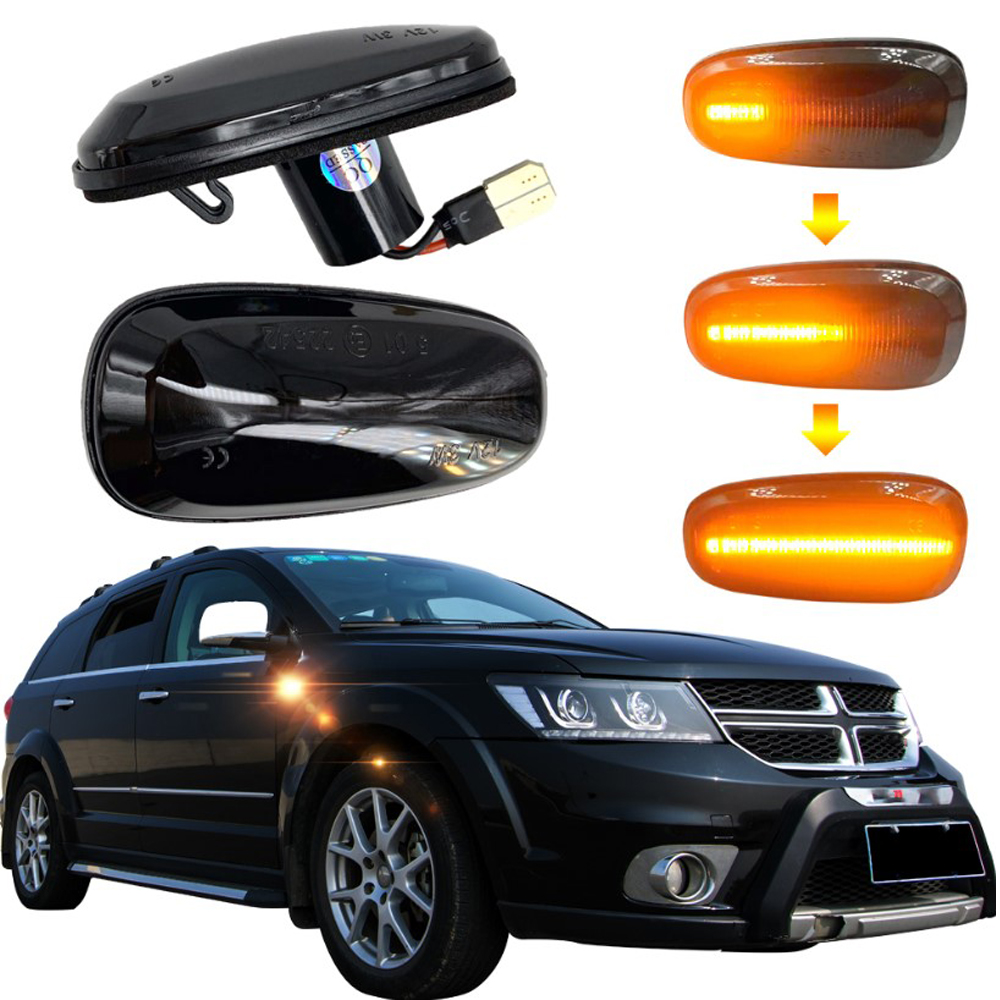 Flowing Led Dynamic Turn Signal Light For Opel Zafira A 1999-2005 For Opel Astra G 1998-2009 Side Marker Light Sequential Blinke