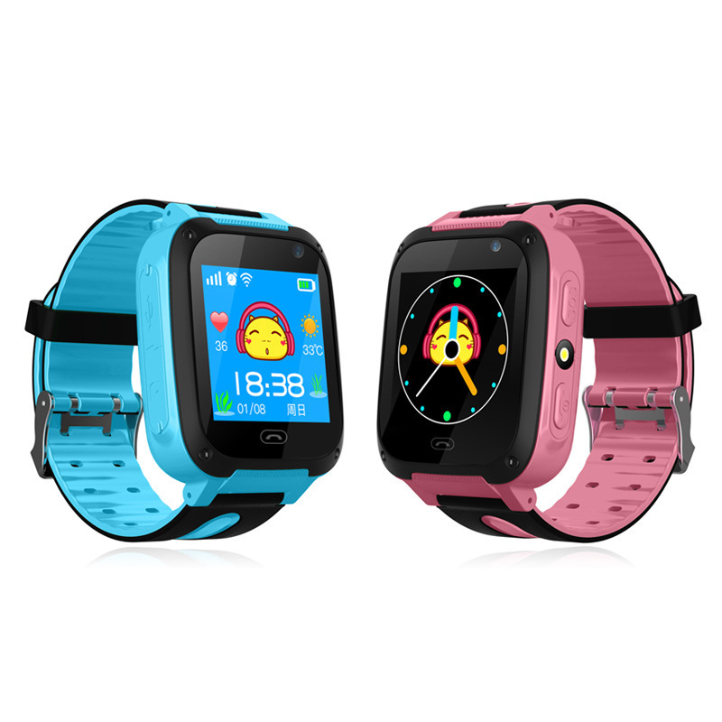 Q9 kids smart phone watch anti lost security positioning tracking ...