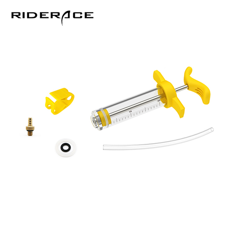 Oil Brakes Change Oiling Tools Accessories Plastic Steel Oiler Injector Mountain Road Bike Outdoor Cycling Repair Tool Set RR744