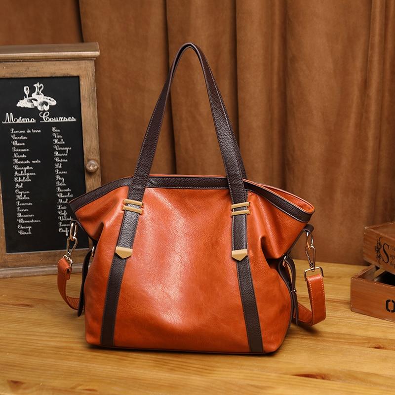 Bolsa de couro genuíno das senhoras das senhoras sacos de grande designer de couro grandes sacolas para as mulheres 2019 bolsas de ombro de luxo k27