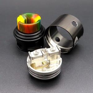 Image 3 - Vape 24mm אפוקליפסה GEN 2 RDA מרסס Rebuildable טנק Squonk BF פין סליל מאדה אלקטרוני סיגריה תיבת אופנות ערכות