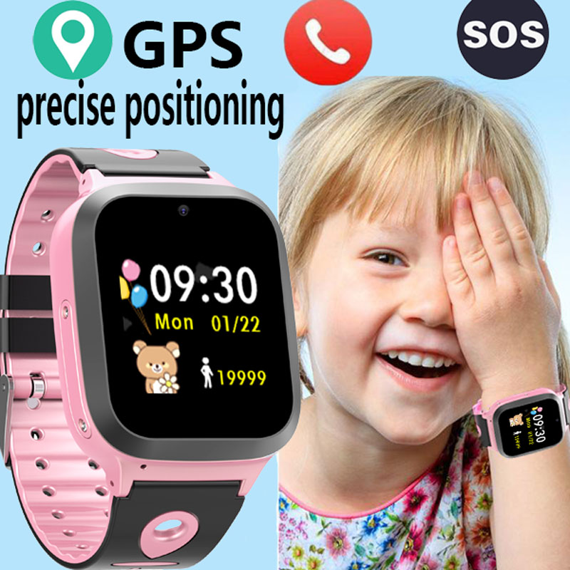 GPS Smart Watch Kids Phone Position Waterproof IP67 children Watch Antil-lost SOS use SIM Card Smart Baby Watches Gift women man