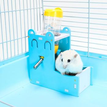 Plastic Hamster Drinker Water Bottle Dispenser Feeder Hanging Pet Dog Guinea Pig Squirrel Rabbit Drinking Head Pipe Fountain 3