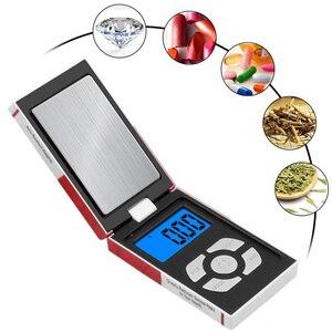 100 г 200 г 300 г 500 г 1000 г x 0,01 г 0,1 г мини электронные весы карманные цифровые весы для Ювелирные изделия из золота, стерлингового серебра