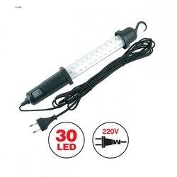 Lámpara portátil AVS CD306B 30LED 220 V