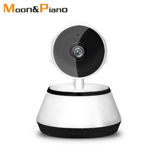 Wifi Camera 1080P Wireless Smart WiFi Camera Home Indoor Security Monitor Network WI-FI Audio Record Surveillance Baby Monitor housekeeping intelligent network camera head wireless wifi million high definition monitor card 1080p integrated camera