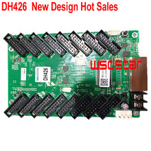 DH426 (MRV366 production unique) polychrome LED carte de réception 16 * HUB75 CE-EMC & RoHS standard avec MSD300 et MSD600