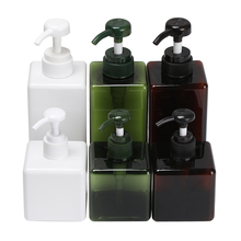 Foaming Bottle Soap-Dispenser Square-Shape Lotion Container-Press-Shower Cosmetic Hand-Pump