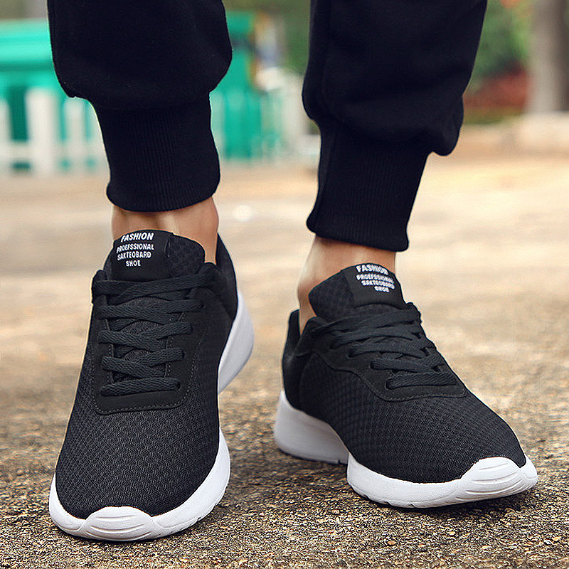Spring New Men Casual Shoes Lace Up Men Shoes Lightweight Comfortable Breathable Couples Walking Sneakers Tenis Feminino Zapatos