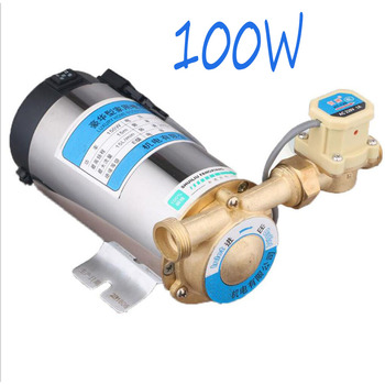 100W Automatic Mini Household Booster Water Pump 220V Water Circulation Pressure Pump for Shower Heating
