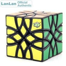LanLan Mosaic Magic Cube Strange Shape Irregular Cubo Magico Professional Neo Speed Puzzle Antistress Educational Toys lanlan bread cube 7 7 7 magic cube puzzle cube educational toys 83mm