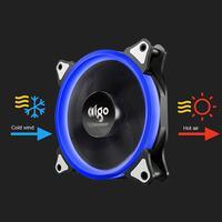 ir led Aigo New Computer Case PC Cooling Fan 120mm RGB Light Adjust LED Fan Quiet + IR Remote Computer CPU Cooler Cooling RGB Case Fan (2)