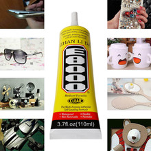 E8000 Clear Adhesive Sealant Glue for DIY Diamond Shoes Paste Jewelry Craf UV Glue Waterproof Super Glue pegamento para celular cheap ISHOWTIENDA Metalworking