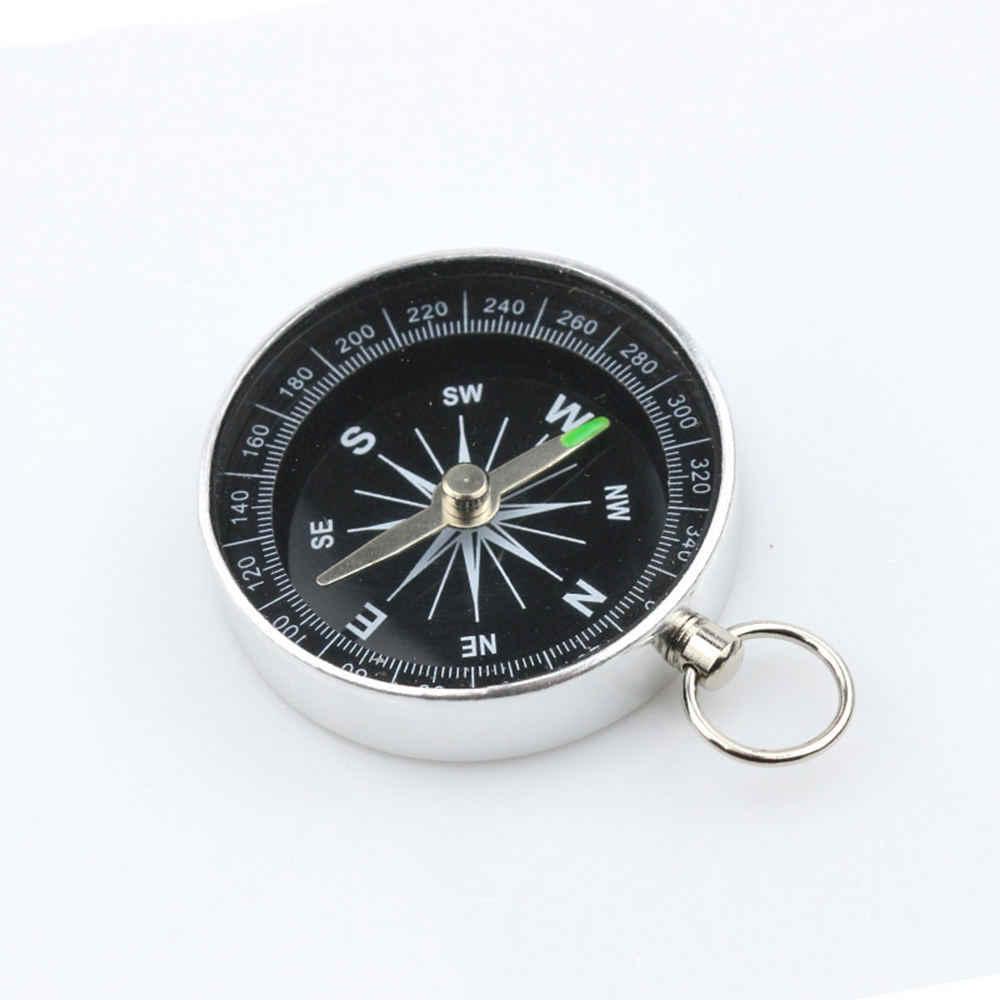 Aluminum Hiking Lightweight Wild Survival Professional Compass Navigation Tool*1