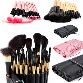 32 Pcs/lot Makeup Brushes Set For Foundation Powder Blush Eyeshadow Concealer Lip Eye Make Up Brush Pink Cosmetics Tools TSLM1