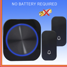 wireless doorbell ring door door bell called night light no battery plugs from u