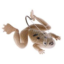 6 sztuk/pudło symulacja żaba czarna ryba zabójca przynęty 5.2g/6cm z haczykiem żaby miękkie owad drogi przynęty kreatywny ryby żywności przynęty|Przynęty|   -