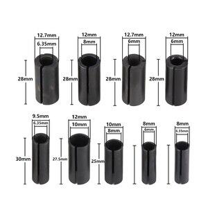 Image 2 - Адаптер с цанговым хвостовиком XCAN 1 шт., держатель для адаптера инструментов с ЧПУ, 8 мм, изменение на 6 мм/8 6,35/9,5 6,35/10 8/12 6 8 10/12, 7 6 6,35 мм
