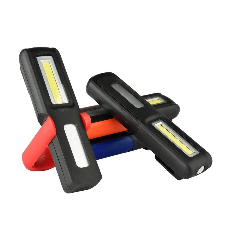 Lithium Ion recargeble DEL Travail Inspection Lumière Spotlight Flood torche COB Light