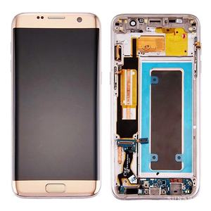 Image 2 - 100% Super AMOLED Screen for SAMSUNG Galaxy S7 edge LCD Display G935 G935F G935A Touch Digitizer Assembly Replacement Parts