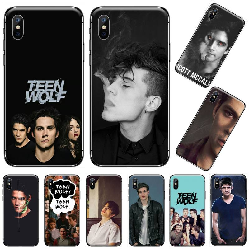 Teen Wolf USA animal movie Phone Case For iphone 5 5s 5c se 6 6s 7 8 plus x xs xr 11 pro max coque shell image