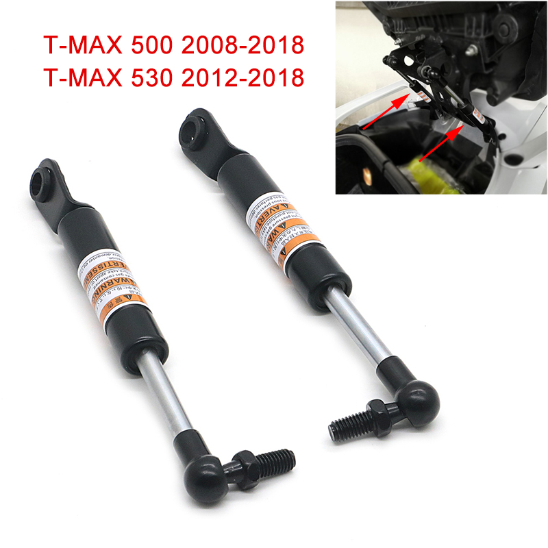 Motorcycle Struts Arms Lift Supports for Yamaha TMAX <font><b>T</b></font> <font><b>MAX</b></font> 500 <font><b>530</b></font> <font><b>T</b></font>-<font><b>MAX</b></font> <font><b>530</b></font> 2008 - <font><b>2018</b></font> 2017 2016 Shock Absorbers Lift Seat image
