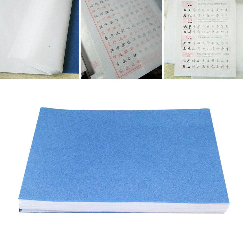 100 sheet/set Translucent Tracing Paper Writing Copying Paper Craft Scrapbook 27*19cm Drawing Stationery Sheet Calligraphy K2T4