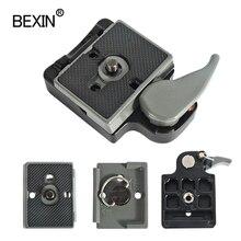 BEXIN 200PL 14 323 שחרור מהיר מהדק מתאם עבור מצלמה חצובה עם Manfrotto 200PL 14 Compat צלחת BS88 HB88 מייצב צלחת
