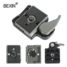 BEXIN 200PL 14 323 Quick Release Clamp Adapter For Camera Tripod with Manfrotto 200PL 14 Compat Plate BS88 HB88 Stabilizer Plate