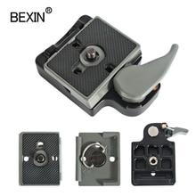 BEXIN 200PL 14 323 Quick Release Clamp Adapter สำหรับกล้องถ่ายรูปกับ Manfrotto 200PL 14 แผ่นรองรับ BS88 HB88 Stabilizer แผ่น
