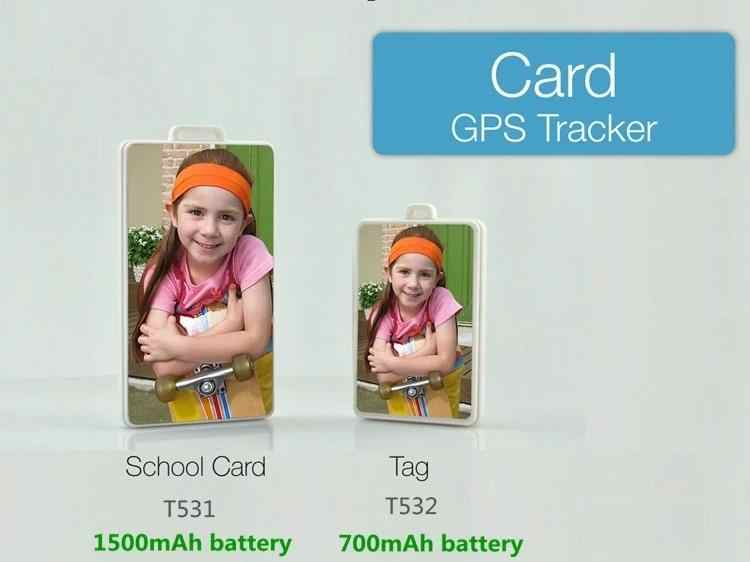 Przenośny lokalizator GPS dla dzieci Student osób starszych SOS szkoły zdjęcie śledzenie w czasie rzeczywistym z aplikacją platformy internetowej Tag T532 GPS Tracker