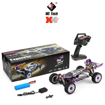 NEW Wltoys 124019 60Km/h High Speed RC Car 1/12 Scale 2.4G 4WD Metal Chassis Electric RC Formula Car Hydraulic Shock Absober