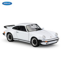 WELLY 1:24 1974 Porsche 911 Turbo3.0 sports car simulation alloy model crafts decoration collection toy tools gift