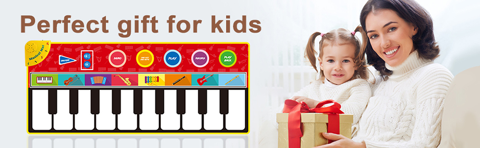 H6e9b90fcf11e4c088d3b04d9ed99df745 Large Size Musical Mat Baby Play Piano Mat Keyboard Toy Music Instrument Game Carpet Music Toys Educational Toys for Kid Gifts