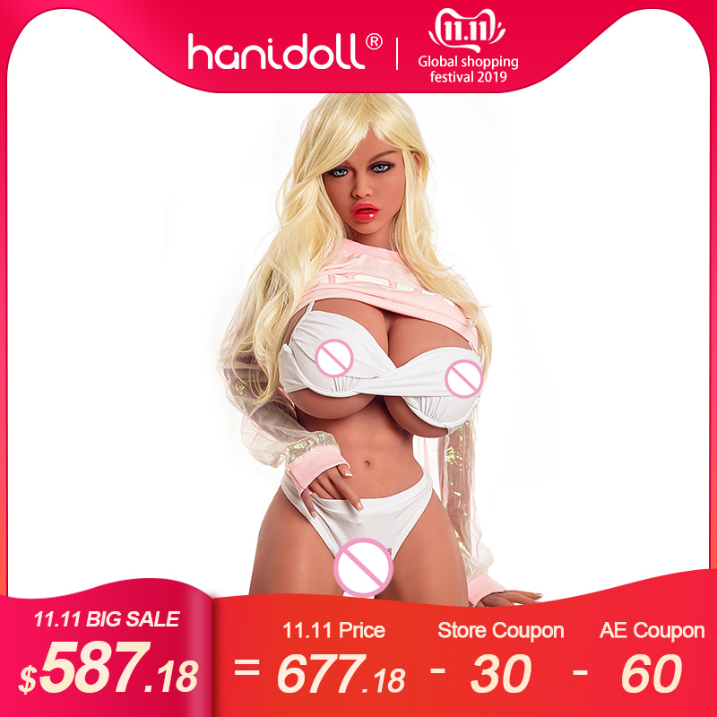 Hanidoll Real Silicone sex dolls Head for doll height 100-170cm