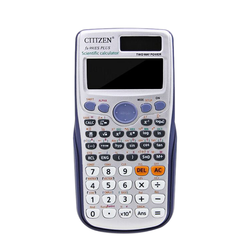 Gtttzen 991Es Plus Office Calculator 417 Multifunctions Student Scientific Calculator School Tools
