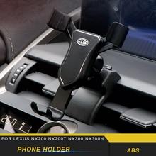 For LEXUS NX200 NX300 NX300h Car Phone Holder Air Vent Mount