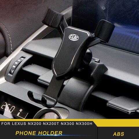 para lexus nx200 nx300 nx300h suporte do telefone do carro suporte de montagem de ventilacao
