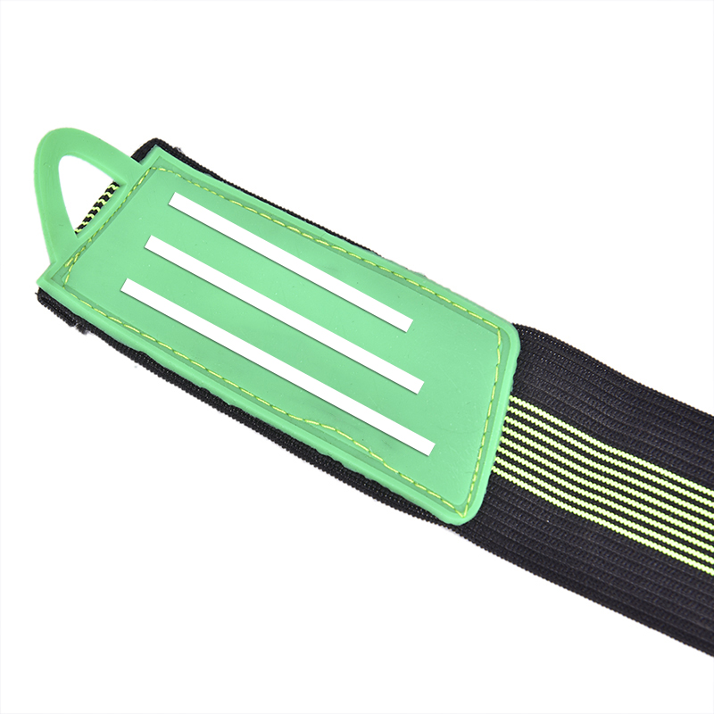 2x Green Bike Bicycle Ankle Leg Bind Bandage Trousers Pant Bands Clips Strap