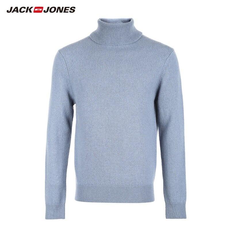 JackJones Men's Wool Turtle Neck Sweater Slim Fit Pullover Top Menswear 218324517 218425519