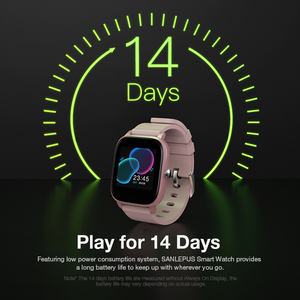 Image 3 - SANLEPUS Full screen touch Smart Watch Wristband Men Women Sport Watch Face Heart Rate Monitor Sleep Monitor IP67 Smartwatch