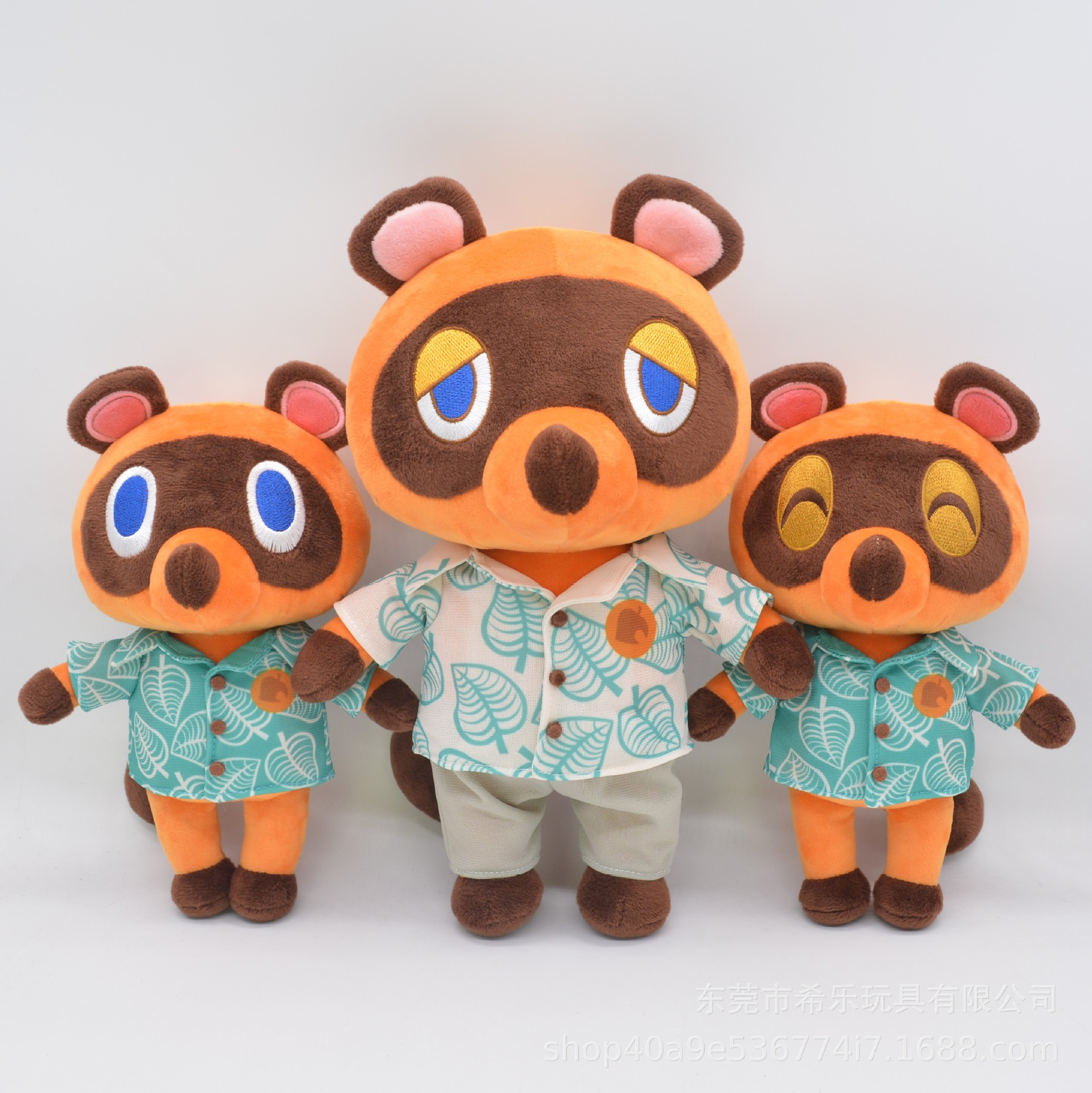 New arrival Tom Nook Plush Toys Dolls Timmy Tommy raccoon brothers Dolls Plush Animal Crossing Game doll birthday Gifts