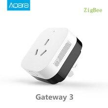 En Stock,Aqara Gateway 3 Aqara climatisation compagnon passerelle fonction de détection déclairage fonctionne avec des Kits de maison intelligente